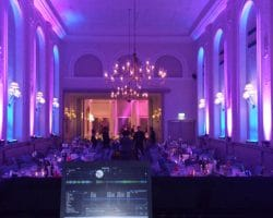 LED uplighting mood lighting Sussex London