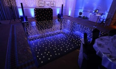 Starlight Dance floor hire london sussex