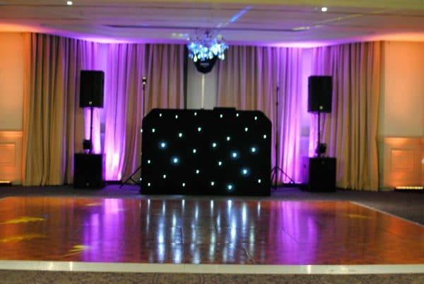 Uks best Wedding DJs Sussex uplighting