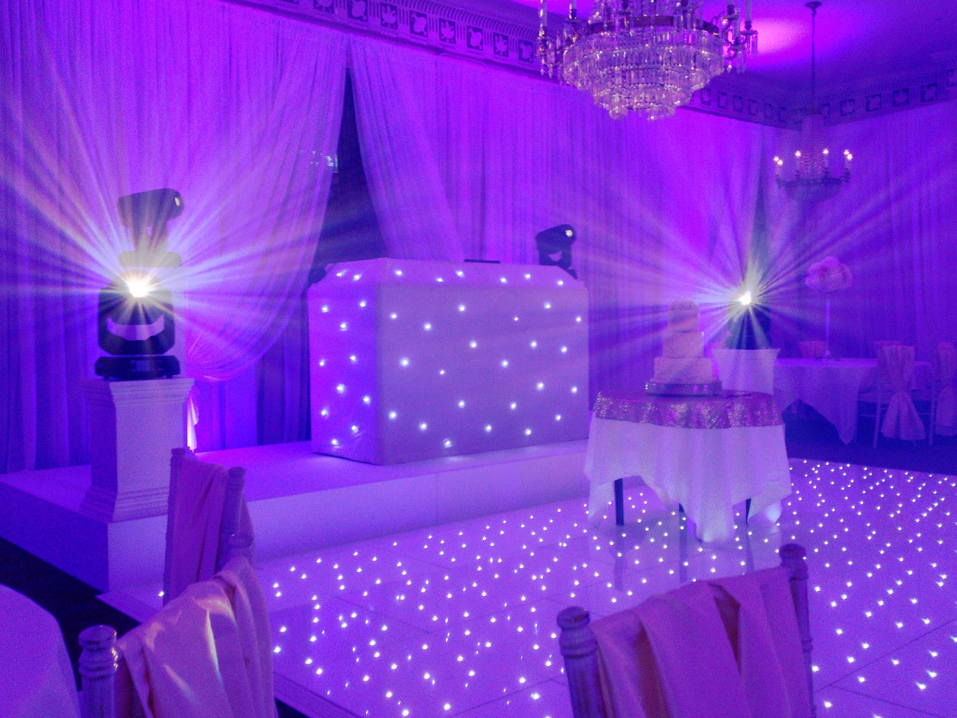 THE PURE WHITE WEDDING DJ PACKAGE