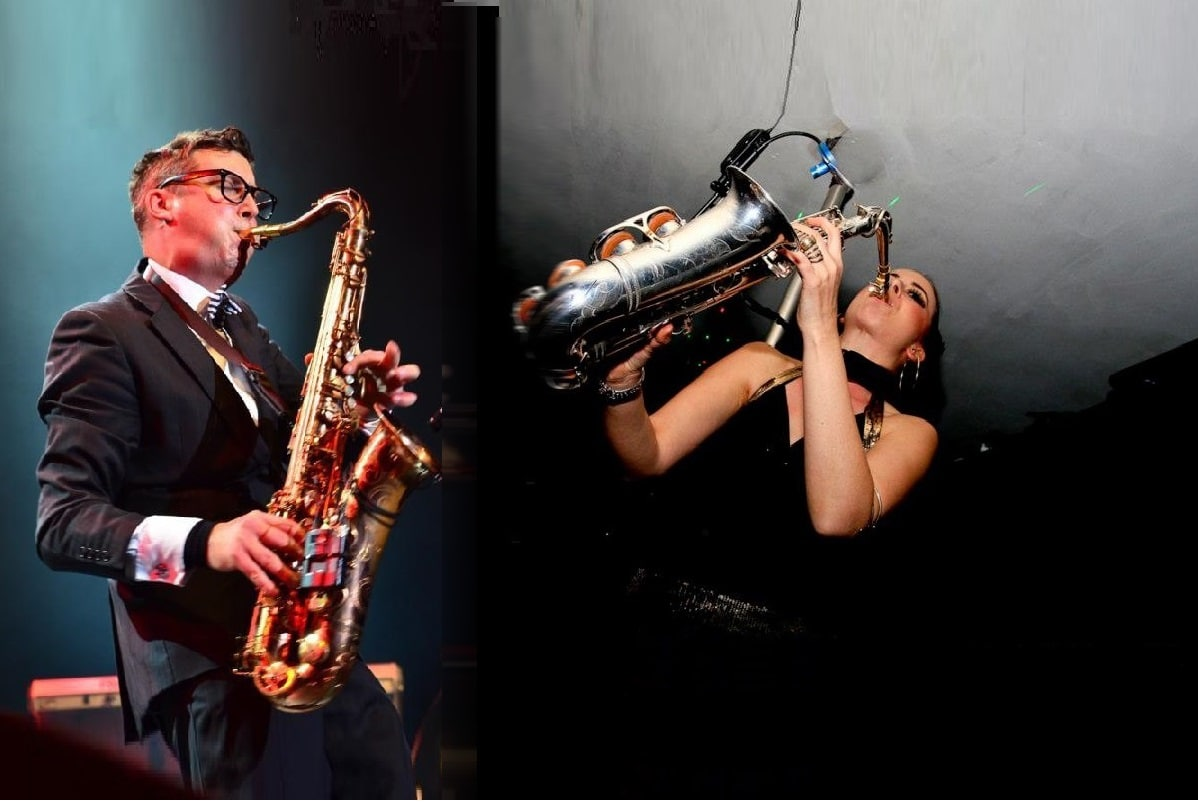 Sussex wedding DJ and Sax london corporate UK