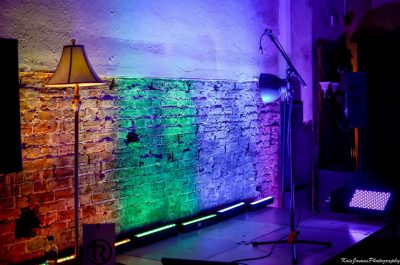 LED uplighting mood lighting sound hire sussex DJ
