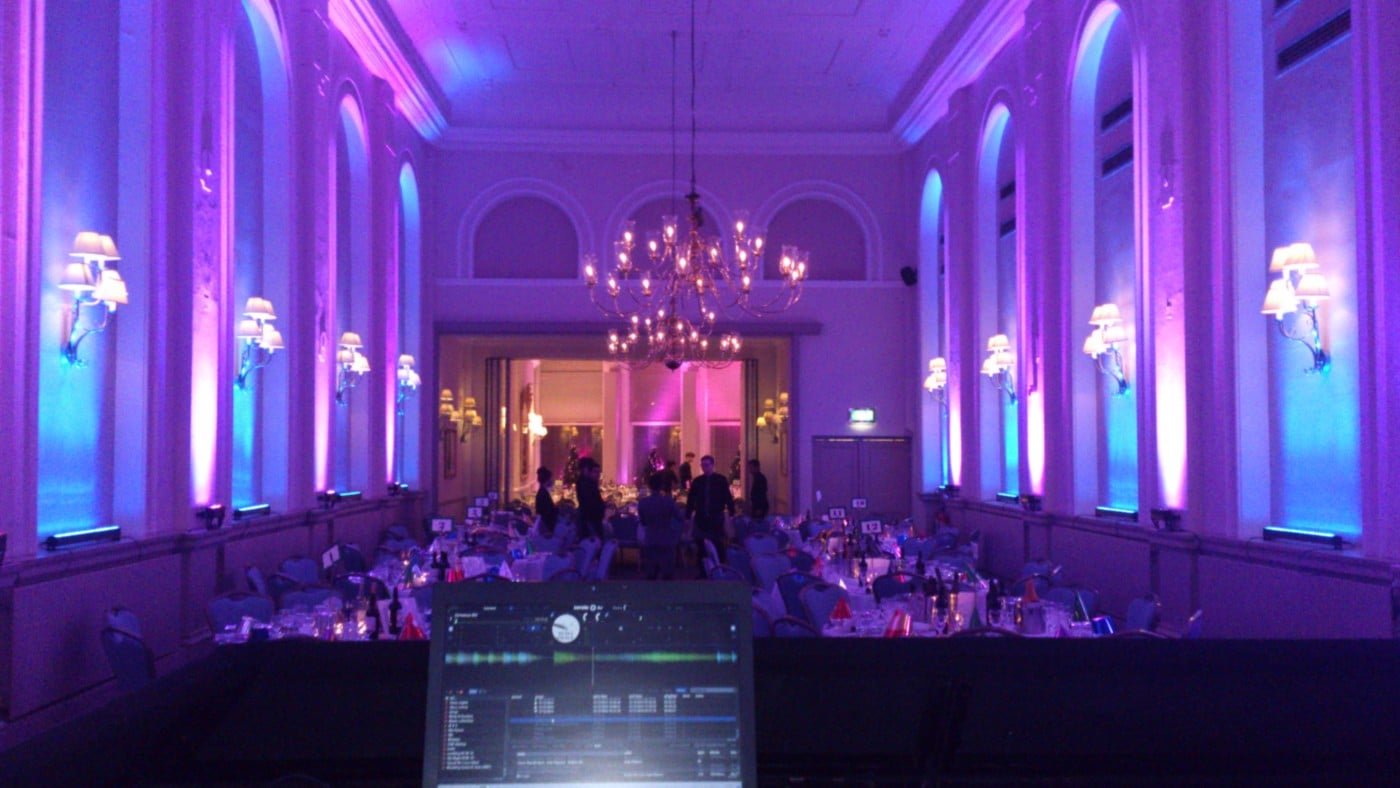 Uplighting mood lighting hire DJ Hire Sussex