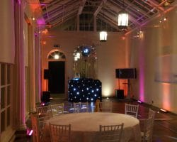 Uks best Wedding DJs Sussex LED uplighting