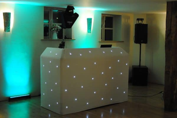 UK best wedding DJ setup sussex london