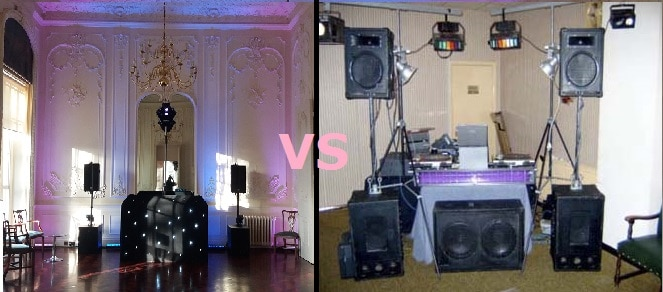 Sussex wedding DJ vs London party dj disco